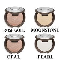 Wholesale Natural Blue Moonstone - Becca New Shimmering Skin Perfector Pressed Rose Gold Moonstone Pearl Opal Matte Color Bronzer Highlighter Glow Kit