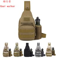 Wholesale Camouflage For Hunting - Outdoor Bags Tactical Backpack 1000D Unisex For Camping Hiking Hunting Camouflage Camping Tactical Baackpack Free DHL Shipping