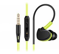 Wholesale Ears Monitors - Sport Earphone Deep Bass Professional HIFI Earphone Monitors Earbuds With Microphone for iphone huawei MP3 MP4 EAR208