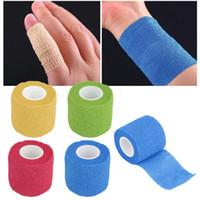 Wholesale Elastic Bandage Tape - 5cm*4.5m Self-Adhering Bandage Wraps Elastic Adhesive First Aid Tape Stretch 5cm wholesale