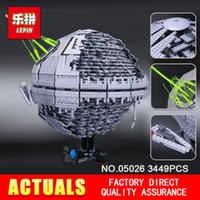 Wholesale Death Stars - LEPIN 05026 Children Gifts 3449Pcs Death The second generation Star Building Block Bricks Toys Compatible with 10143