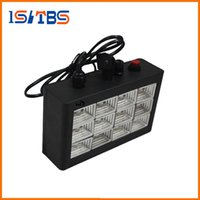 Novo RGB / White Led Party Disco Lights 15W 24W 30W 96W Mini Strobe Stage Light DJ Flash KTV Laser Lighting Frete Grátis