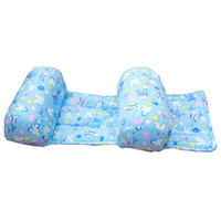 Wholesale Wholesale Nursing Pillows - Wholesale- Infant Baby Summer Comfortable Cotton Adjustable Safe Anti Roll Pillow Sleep Head Positioner Bedding Toddler Nursing Pillows