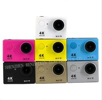 Wholesale CHINA RENZHIXIN K sports camera K WiFi P LCD D lens ACtion camera waterproof camera