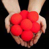 Wholesale Magic Props For Sale - 5 Pcs lot Finger Magic Props Sponge Ball Close-UP Street Classical Illusion Magic Tricks For Sale trucchi di magia