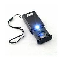 luz len al por mayor-Herramienta Negro 30x 60x Pull Type LED joyero de luz que identifica la lupa óptica lupa Len Watch Repair Tool
