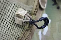reißverschluss seil großhandel-Reißverschlussring Mehrzweckreißverschlüsse Schwanzseil Schnalle Diebstahlsicherung Schwarzer Abschnitt Haushaltsreisen Notwendig Bequem und einfach zu bedienen 0 4nh