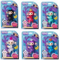 Wholesale Wholesale Christmas Educational Toys - Fingerlings Interactive Baby Monkey Fingerlings Smart Fingers Monkey Wholesale 6 Colors Funny Kids Toy Halloween Christmas Gift