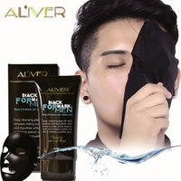 Wholesale good masks for face resale online - 300 ALIVER blackhead remover Deep Cleansing purifying peel off the Black head for man acne treatment good as shills mask