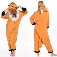 Wholesale Cheshire Cat Onesie Pajamas - Fox Chicken Care Bear Cheshire Cat Zebra Fox Onesie Animal Pijama Pajamas Pyjamas Suit Sleepwear For Men Womens Pajamas