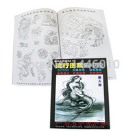 Wholesale Tattoo Flash For Sale - Wholesale-Crazy Tattoo Books Hot Sale Popular Tattoo Flash Book VOL.6 For Tattoo Art Supplies Free Shipping