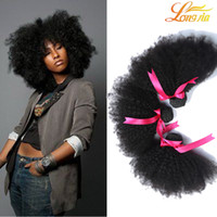 La Meilleure Machine À Cheveux Bouclés Pas Cher-Longjia Hair Products 7A Best Quality Mongolian Afro Kinky Curly Virgin Hair 3pcs beaucoup Mongollian Afro Kinky Curly Virgin Human Hair Weaves