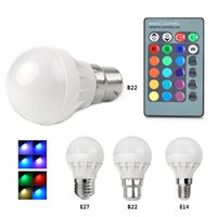 SUPERIOR 1PCS Bonito CA 85V - 265V 16 Coloridos RGB RGB LED Spotlight Bulbo 3W Decoração de Natal Light Lamp + IR Remote Controller