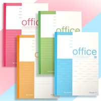 Wholesale Vintage Office Supplies - Wholesale diary notebook thickening small and fresh college supplies office stationery Business notebook Soft copy Four-color mixing