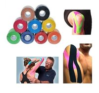 Wholesale Green Safety Tape - Kinesiology Tape,Waterproof Elastic Physio Therapy Muscle Tape,Sports Safety Tape Strain Support 2.5cmX5m