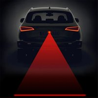 Wholesale Anti Collision Rear end Car Laser Tail v led car Fog Light Auto Brake auto Parking Lamp Rearing Car Warning Light