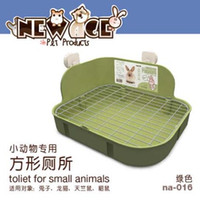 Wholesale Rabbit Supplies Wholesalers - Pet Hygiene Supplies Small Animal Products Cage Corner Large Size Toilet Litter Tray Litter Box For Rabbit Guinea Pig Chinchilla