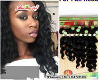 8pcs / lot 100% humain crochet cheveux bouclés Ombre Blonde / BUG brésilien en vrac Kinky Curly Hair Two Tone Ombre Kinky ripped humain tissage