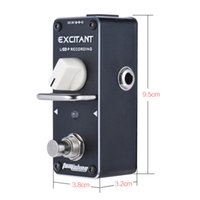 Wholesale guitar effects pedals looping for sale - Group buy AROMA ALP Loop Recording Guitar Effect Pedal Looper Effect True Bypass Unlimited Overdubs True Bypass with Fastener Tape Guitar effects