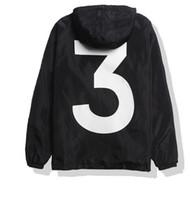 Wholesale jackets slim college - anorak sunscreen jacket for men women y-3 college jacket windbreaker jaqueta masculina print rashguard bomber jacket