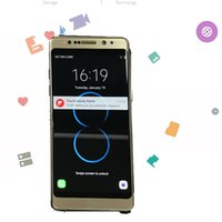 Wholesale Wholesale Mobile Phones Indonesia - Note8 5.7Inch Smart Phone 1GB Ram 8GB Rom MTK6580A Quad Core Mobile Phone 8MP Rear Camera Sealed Box show 4G 64G 4G LTE In stock