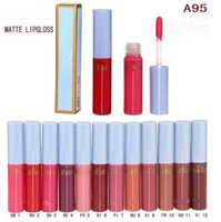 Wholesale cinderella makeup for sale - M Cinderella Matte Lipgloss Limited Edition Lipsticks Makeup Retro Matte Lip Glosses Branded Colors High Quality DHL
