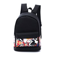Wholesale Chinese Backpacks Free Shipping - Wholesale- New Fashion Chinese style Boy Girl Unisex flowers leisure Canvas Rucksack Backpack School Book Shoulder Travel Bag Free Shipping