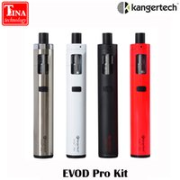 Atacado- 100% Original Kanger EVOD Pro All-in-One para Kit MTC com Top-filling Design 4ml Tank fit for 18650 Battery for free shipping