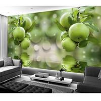 papel pintado para paredes d para sala de estar frutas verdes papel pintado decoracin