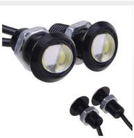 Wholesale Eagle Eye 23mm - 9W LED 18MM 23MM DC12V Eagle Eye Light Car Fog DRL Daytime Work Driving Reverse Backup Parking Signal Light Lamp Free Shipping