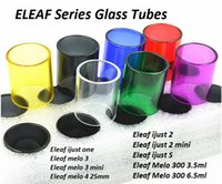 Wholesale One S Glass - Pryex Replacement Glass Tube for Eleaf Melo 3 4 Mini 300 III ijust S 2 Mini One Tank Atomizer iStick Pico Glass Tube