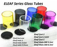 Pryex Replacement Glass Tube para Eleaf Melo 3 4 Mini 300 III ijust S 2 Mini One Tank Atomizer iStick Pico Glass Tube
