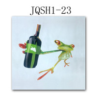 Wholesale Entrance office decoration painting office modern living room corridor restaurant painting frog pure hand painting