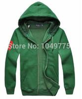 Wholesale Hoodie Jacket Xxl Size - 2016 Hot sale Mens fashion hoodies brand Sweatshirts Big Horse lovers casual with a hood sport jacket men thick coat hoodie men size S-XXL