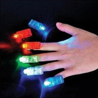 Finger Light Up Anello laser del partito di rave LED di favori Glow Travi 1000pcs luminoso eccellente sacco Nave / da DHL