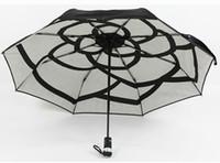Vendita allingrosso di sconti ombrello principale nero in messa da