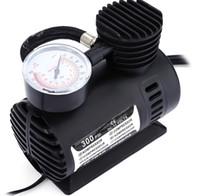 mini-pumpen elektrisch großhandel-2016 12 V 300PSI Elektrische Motorrad Aufblasbare Pumpe Tragbare Mini Luftkompressor Reifenfüller für Fahrrad Reifen Bälle Luftmatratzen