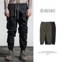 Wholesale Youth Bows - Mens Sweatpants Spring Autumn Mens Joggers Pants Casual Trousers Solid Ankle-tied Youths Men Trousers Free Shipping