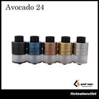 Wholesale Velocity Systems - Geekvape Avocado 24 RDTA 5ml Tank Avocado 24 Atomizer velocity deck with hinge lock fill system E-Cigarette Tank 100% Original Free DHL