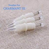 Wholesale Makeup Mouth - Permanent Makeup Needles All-in-one Screw Needle Mouth Charmant 3 Of Special Needle Bleached Lips Tattoo Eyeliner Tattoo Eyebrow