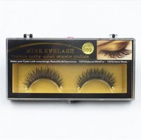 Wholesale Long Natural Feather Extension - Premium Quality False Eyelashes Handmade Natural Long Thick Mink Fur Eyelashes Soft Fake Eye Lash extensions Black Terrier Full Strip Lashes