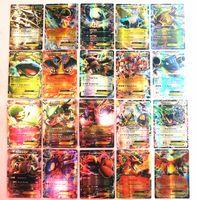 18 mega großhandel-Keine Wiederholung Englisch POKER 100 GX Sammelkarte 18/70 Karte 60 Mega-Karten EX-Karten für TCG-Kartenspiele KIDS TOY ALS GESCHENK Kostenloser Versand