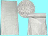 Wholesale Damask Guinea Brocade - NJ605 Jacquard Guinea Brocade Fabric,Bazin Riche Quality 10 Yards bag 100% Cotton Damask Abaya Fabric With Perfume