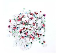 Wholesale Doll Eyes 15mm - Not Self-adhesive 300PCS Mixed 4mm 8mm 10mm 15mm 20mm Dolls Eye For Toys Dolls Googly Black Eyes Used For Doll Accessories