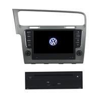 ingrosso vw golf gps radio-8inch Andriod 5.1 Lettore DVD dell'automobile per il VW Golf 7 2013, con il GPS, controllo del volante, Dua Zone, Radio, funzione BT