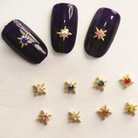 Wholesale Drill Beauty - Metal Jewelry Nail Art Decorations Exclusive Beauty Nails Stickers Drilling Polish Nail Art Metal Accessories Fashion Appearance