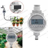 Novo Solar Power Garden Auto Watering Irrigation Controller Digital Water Timer MYY