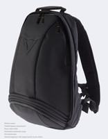 Wholesale Backpack Moto - Free Shipping Wholesale Black Motocross Backpack Moto bag Waterproof backpack reflective helmet bag motorcycle racing backpack