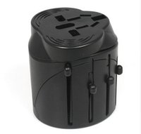 Wholesale Electrical Wall Sockets - UK US AU to EU Plug International Travel Adapter Universal Electrical Plug AC Power Wall Charger Europe Socket Outlet Converter