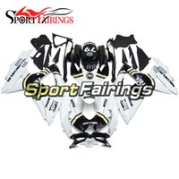 Wholesale Lucky Strike Motorcycle Fairings - Fairings For Suzuki GSXR600 GSXR750 K8 08 09 10 2008 - 2010 ABS Motorcycle Injection Fairing Kit Bodywork Body Kit Cowling Lucky Strike 79